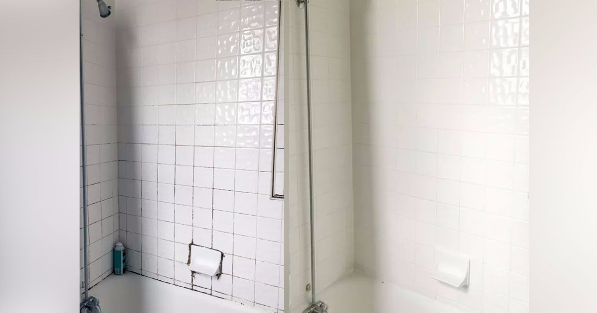 Shower Tile Grout Can Get Disgusting Look At 5 Ingenious